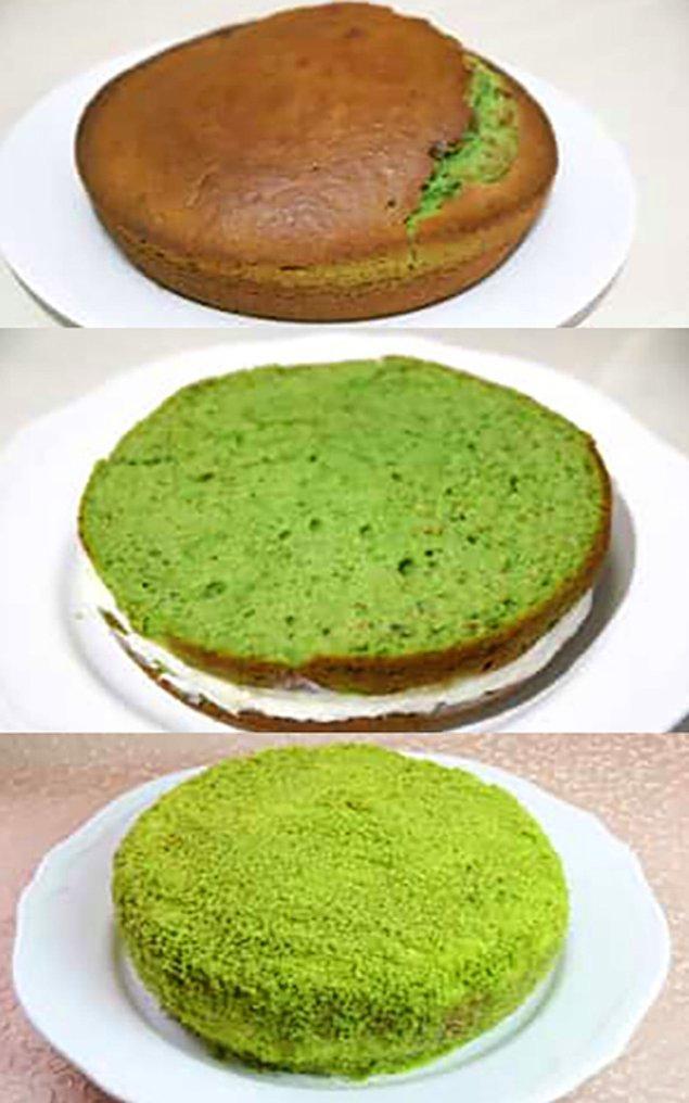 Ispanaklı Pastanın Hazırlanışı
