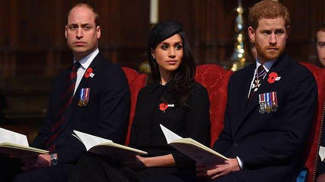Sussex Dükü Prens Harry ve Düşes Meghan Markle'ın ünvanlarının ise alınacağı söylendi fakat Harry bu konuda bir açıklama yapmadı.