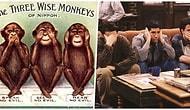 Günümüzdeki Varlığını Emojilerle Sürdüren Meşhur Üç Maymun'un Antik Zamanlardan Kalma Ufuk Açıcı Hikâyesi