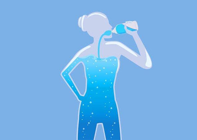 10. Yetersiz sıvı tüketimi