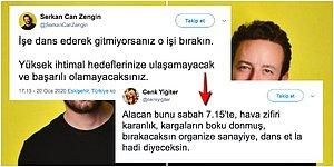 'İşe Dans Ederek Gitmeyenler Başarısızdır' Diyen İletişimci, İnsanların Telini Kopartıp Çıldırttı