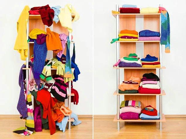 4. Hangi taraf senin kıyafetlerinin durumunu daha iyi özetliyor?