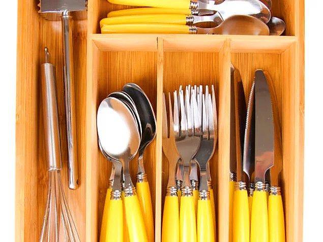 5. Mutfak çekmecelerinin şu anki durumunu bize biraz özetlesene!