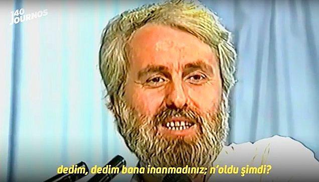 Hasan Mezarcı, eski müftü ve 19. dönem Refah Partisi milletvekiliydi. Reha Muhtar'ın programında mesih olduğunu açıklamıştı. Tabii bu iddia ortalıkta bomba etkisi yaratmıştı.