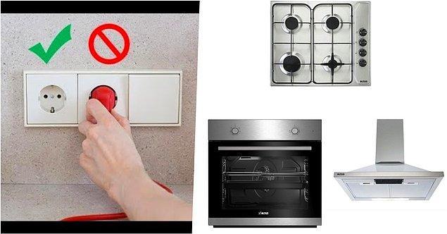 Fırınınızı kullanırken gerekli olmadıkça ön ısıtma yapmayın veya ön ısıtmayı oldukça kısa tutun.