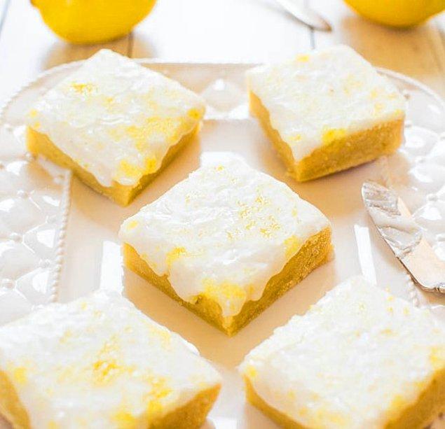 Limonlu Brownienin Hazırlanışı