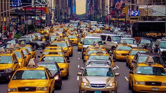 New York'ta korna çalmak illegaldir.