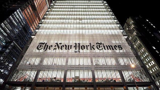 New York Times pazar baskıları için 75.000 ağaç kesiliyor.