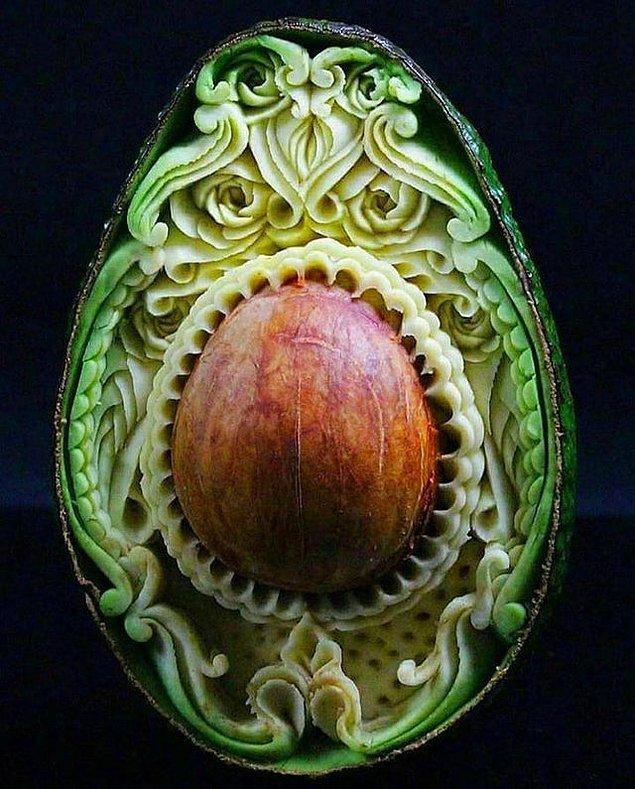 10. Avokado sanatı ❤️