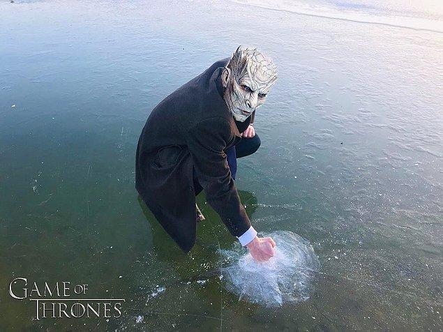 8. Winter is coming.