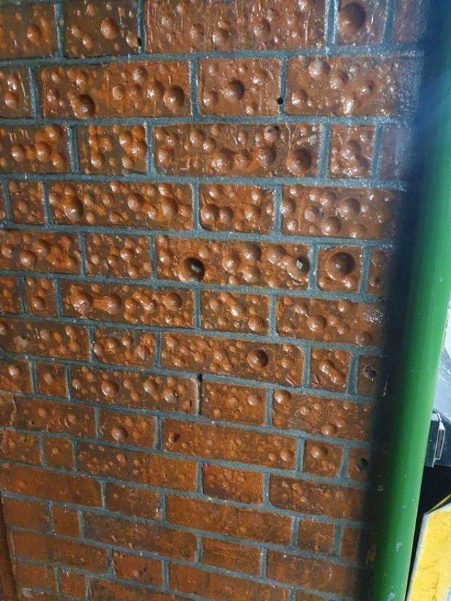 """4. """"Londra'da hep kullandığım tren istasyonunun duvarında şöyle şeyler var. Ne olduğunu bilen var mı?"""""""
