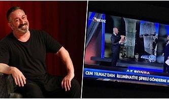 Beyaz TV, Cem Yılmaz'ın İlluminati'ye Şifreli Gönderme Yaptığını Söyleyince Ünlü Komedyenden Güldüren Cevap Gecikmedi