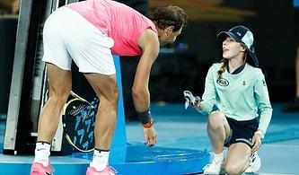 Vurduğu Top, Top Toplayıcı Çocuğun Yüzüne Gelince Anında Yanına Koşan Rafael Nadal!