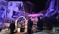 Elazığ'daki Deprem Sonrası Bölgeden İlk Görüntüler