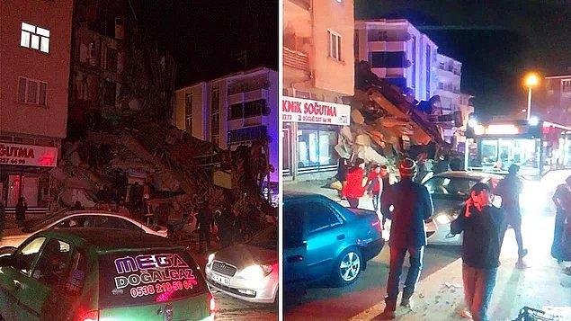 Bu akşam merkez üssü Elazığ'ın Sivrice ilçesi olan 6.8 büyüklüğünde bir deprem meydana geldi ve çevre illerden de hissedilen bu depremin ardından pek çok artçı sarsıntı oluştu.