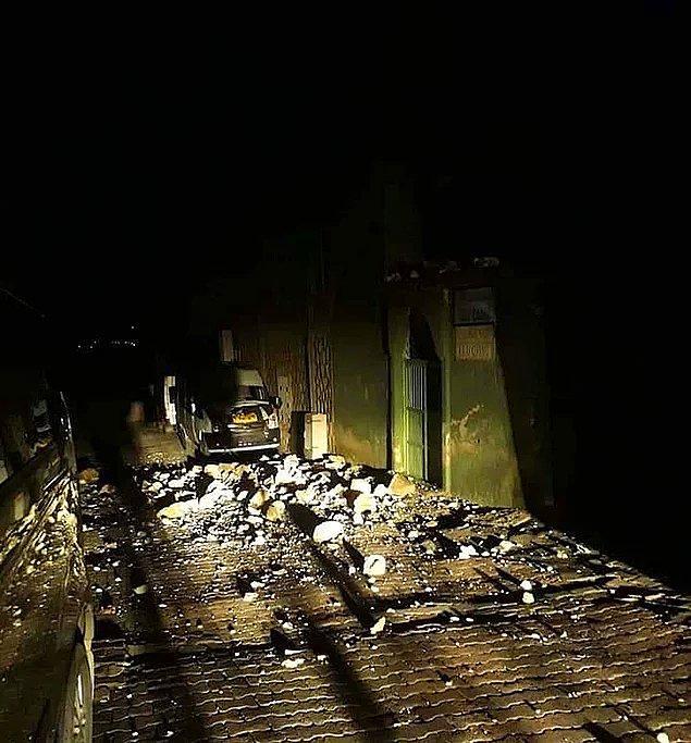 Gece don riskine karşı halk uyarılırken, gelen ilk görüntüler yıkımın boyutlarını ortaya koydu.