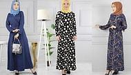 Yeni Sezon Şık Tesettür Elbise Modelleri Modanoiva.com'da!