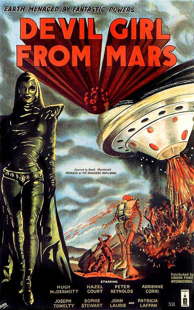 'RiffTrax: Mars'tan Şeytan Kızı' - 1954: