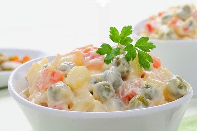 Rus Salatasının Hazırlanışı
