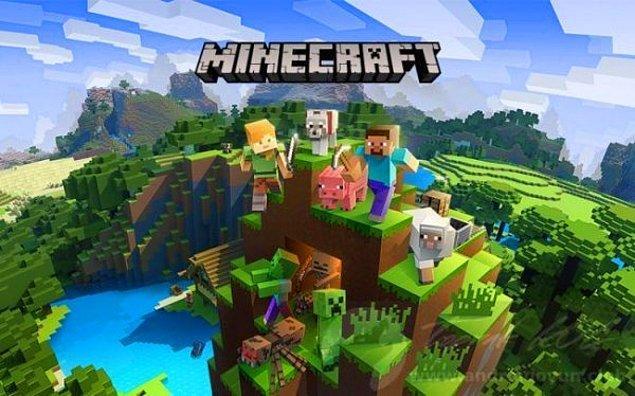 1. Minecraft (37.9)