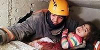 Ankara İtfaiye Ekipleri, Elazığ'da Enkazdan 2,5 Yaşında Bir Çocuğu Kurtardı!
