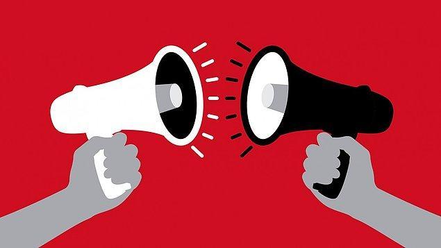 4. ABD Kanunu'ndaki konuşma özgürlüğü fıkrası özellikle devletin kişilerin konuşma hakkını sınırlamasını kast etmektedir, diğer insanların değil.