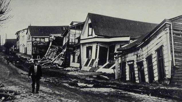 2. 1960 yılında meydana gelen ve dünyanın en büyük depremlerinden biri olan Büyük Şili Depremi'nin büyüklüğü richter skalasıyla kaç olarak ölçülmüştür?