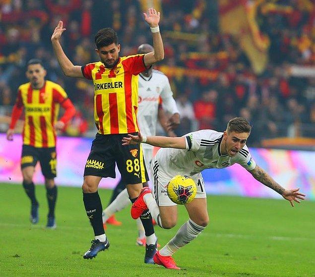 Beşiktaş, Süper Lig'in 19. haftasında deplasmanda Göztepe'ye konuk oldu.