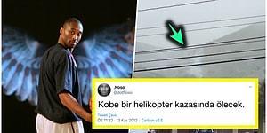 2012 Yılında Kobe Bryant'ın Helikopter Kazasında Öleceğini İddia Eden DotNoso'nun İronik Paylaşımı Kafaları Yaktı!
