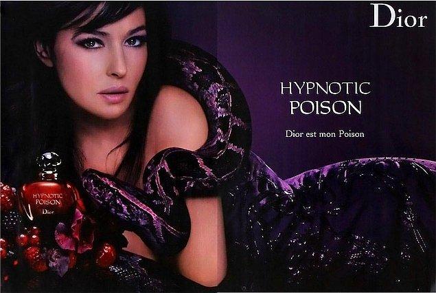 3. Dior-Hypnotic Poison: Pek çok ünlünün tercihi ve 'kalbin zehiri' olarak biliniyor.