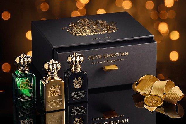 6. Clive Christian: Dünyanın en pahalı parfümü o. Hatta Guinness Rekorlar Kitabı'nda bile yeri var.