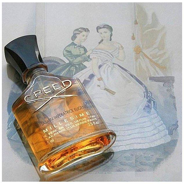 7. Creed-Jasmin İmperatrice Eugenie: Bu parfüm Napolyon'un eşi için özel hazırlandı.