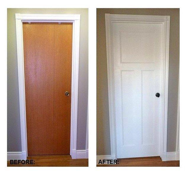 5. Aslında bize öğretilenin aksine, evinizdeki pek çok şeyi boyayarak yenileyebilirsiniz.