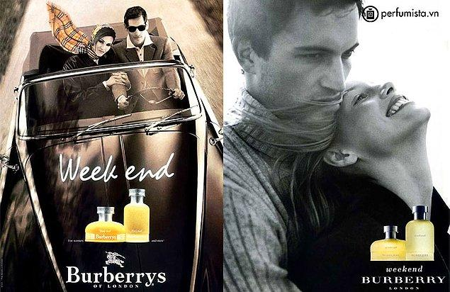 24. Burberry-Weekend: Unutulmazlar arasında yer alan parfüm erkekleri en çok etkileyen kokulardan bir tanesi.