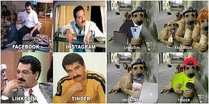 Her Sosyal Medya Platformuna Yüklediğimiz Fotoğrafları 'Özenle' Seçtiğimizi Anlatan Akımdan 15 Komik Paylaşım