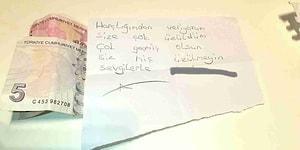 Elazığ'a Yardım Paketinden Çıkan Not: 'Harçlığımdan Veriyorum, Siz Hiç Üzülmeyin'