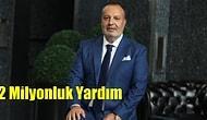 Rekor Yardım: Elazığ'a 2 Milyon Bağışlayan TL Aksa Enerji ve Holding Patronu Cemil Kazancı Kimdir?