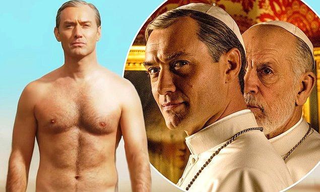 11. 'The Young Pope' imkansız dizilerden biri. Muhafazakar kimliği ve yoksullara karşı merhametiyle bilinen Amerikalı bir Papayı, standardın çok dışında bir yaşam stiliyle görüyoruz.