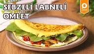 Hafta Sonu Kahvaltısının En Lezzetli Hali: Sebzeli Labneli Omlet Nasıl Yapılır?