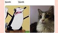 Evcil Hayvanlarını ve İsimlerini Sadece İki Görselle Anlatan Twitter Kullanıcıları Ortalığı Minnoşluğa Boğdu!