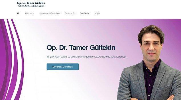 Kişisel internet sitesi üzerinden, kadın hastalıkları ve doğum uzmanı olduğu öğrenilen Dr. Tamer Gültekin'in, aşı geliştirme ile ilgili herhangi bir alakası yok anlayacağınız.