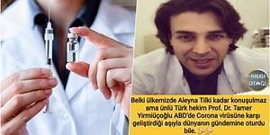 Korona Virüsün Aşısını Bulduğu İddia Edilen Türk Doktorun, Vajina Beyazlatma İşlemiyle Gündeme Gelen Bir Jinekolog Olduğu Ortaya Çıktı