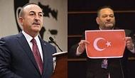 Avrupa Parlamentosu'nda Türk Bayrağı Yırtan Yunan Vekile Çavuşoğlu'ndan Sert Tepki: 'Denize Nasıl Döktüğümüzü Irkçılar İyi Bilir'