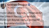 Türk Bayrağını Yırtan Yunan Vekile Sosyal Medyadan Tepkiler Gecikmedi