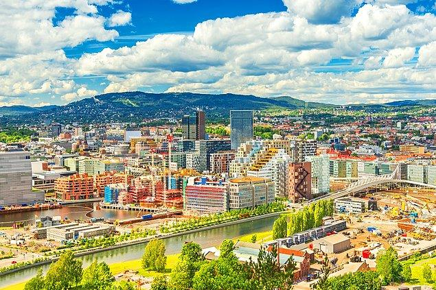 1. Oslo, Norveç