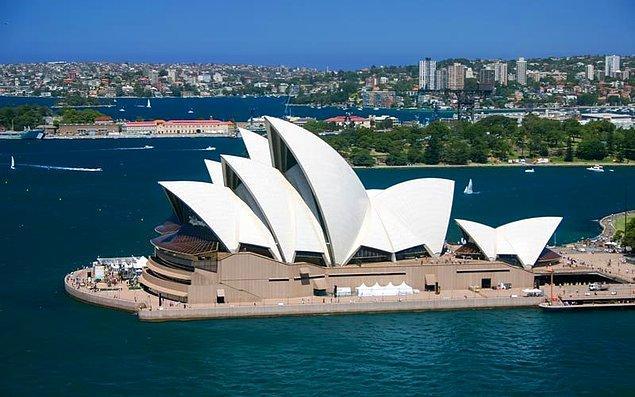 3. Sidney, Avustralya