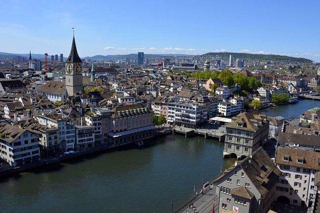 5. Zürih, İsviçre