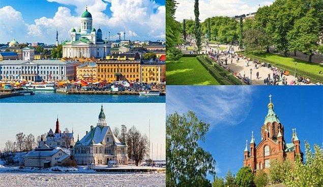 6. Helsinki, Finlandiya