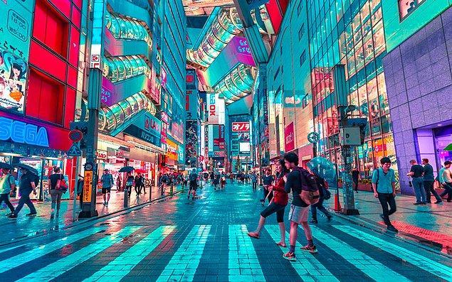 14. Tokyo, Japonya