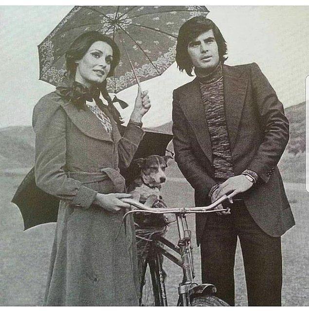 5. Necla Nazır ve Tarık Akan, İstanbul, 1975.